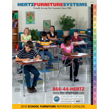 Hertz Furniture's 2010 Catalog Cover